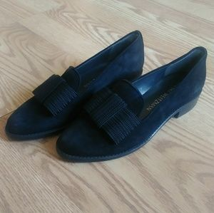 Suede Stuart Weitzman Loafers